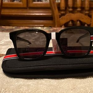 NWT Carrera Black Squared Sunglasses 164S